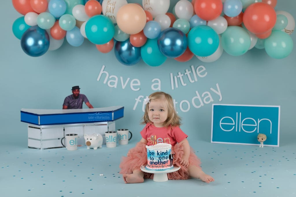 This Baby's Over-the-Top Cake Smash Is the Ode to Ellen DeGeneres That She Deserves